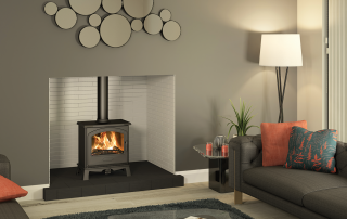 Broseley Hereford 5 Widescreen Ecodesign Ready Multifuel Stove