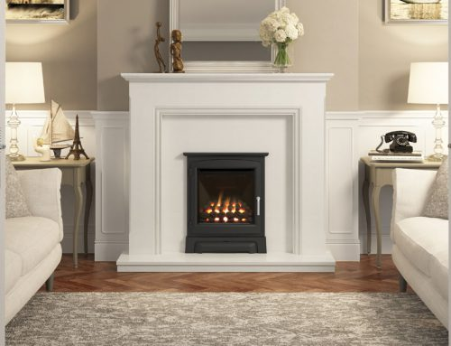 Balanced Flue inset gas fire