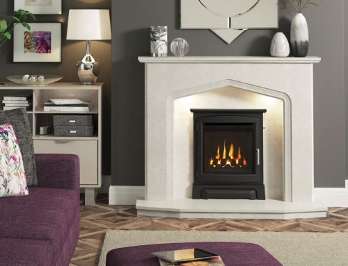 Deepline High Efficiency inset gas fire