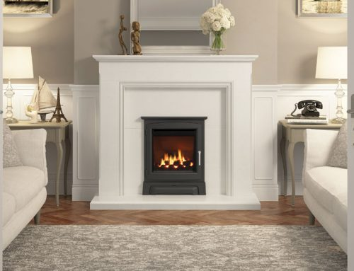 Mid-Depth High Efficiency inset gas fire