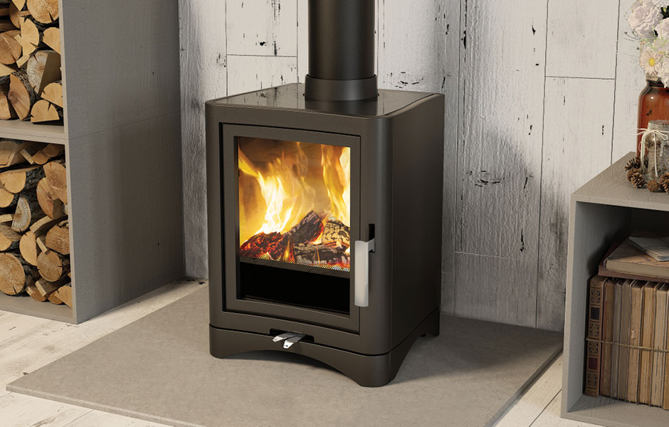 Evolution 5 Deluxe Multifuel Stove Broseley Fires